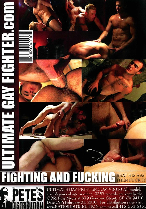 UGF: Fighting & Fucking DVD - Back