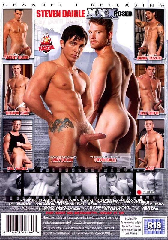 Steven Daigle XXXposed DVD - Back
