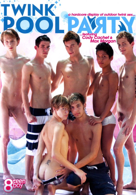 Twink Pool Party DVD - Front