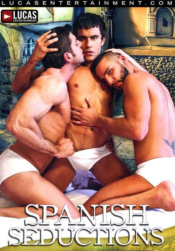 Spanish Seductions DVD - Front