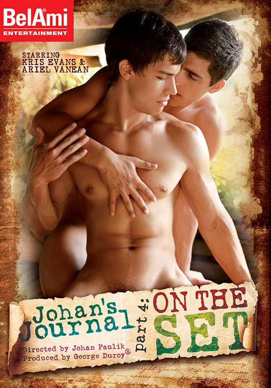 Johan's Journal part 4: On The Set DVD - Front