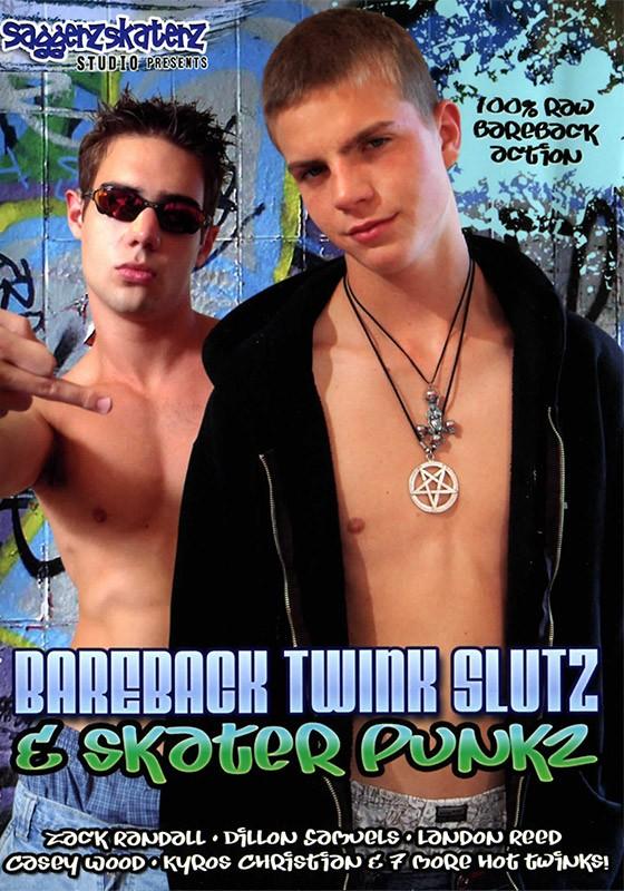 Bareback Twink Slutz & Skater Punkz DVD - Front
