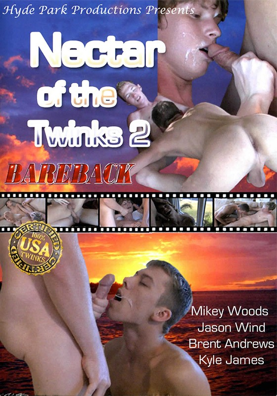Nectar of the Twinks 2 DVD - Front