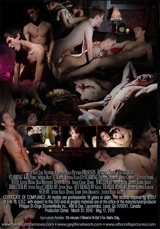 Twinklight DVD - Back