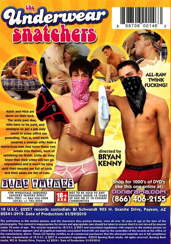 The Underwear Snatchers DVD - Back