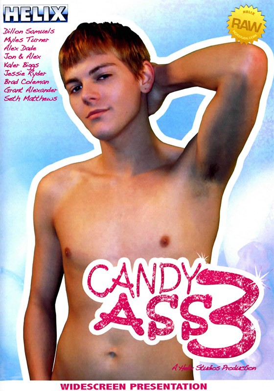 Candy Ass 3 DVD - Front