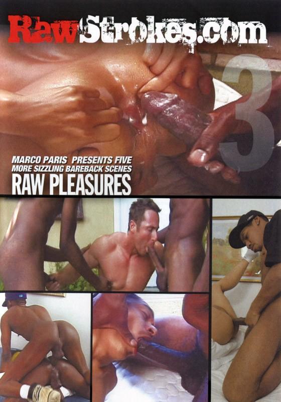 Raw Pleasures DVD - Front
