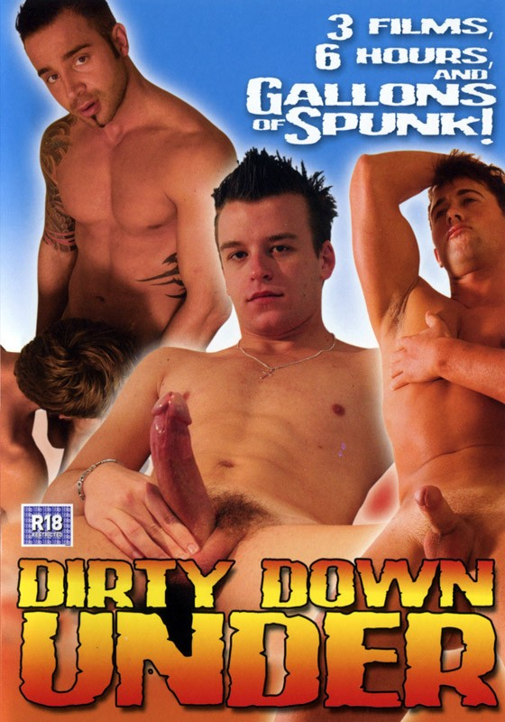 Dirty Down Under DVD - Front