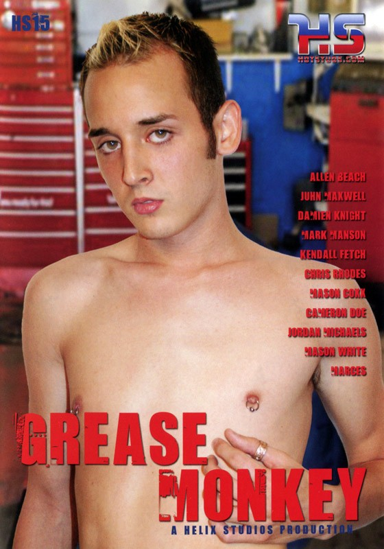 Grease Monkey (Helix) DVD - Front