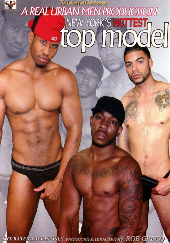 New York's Hottest Top Model DVD - Front