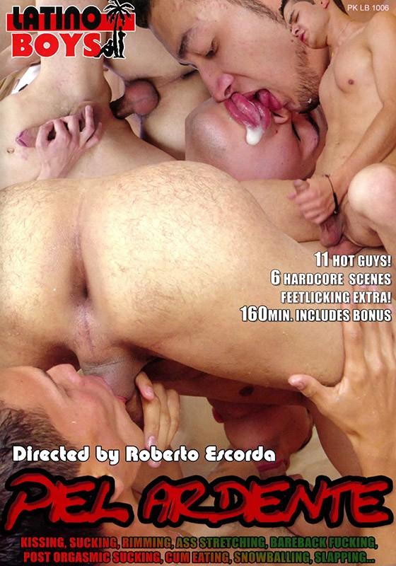 Piel Ardiente DVD - Front