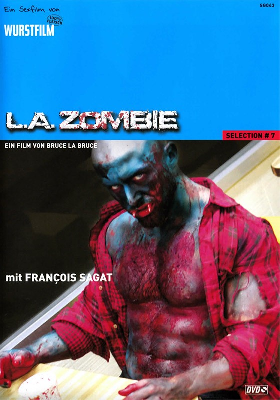 L.A. Zombie DVD - Front