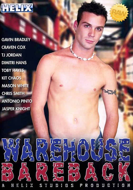 Warehouse Bareback DVD - Front