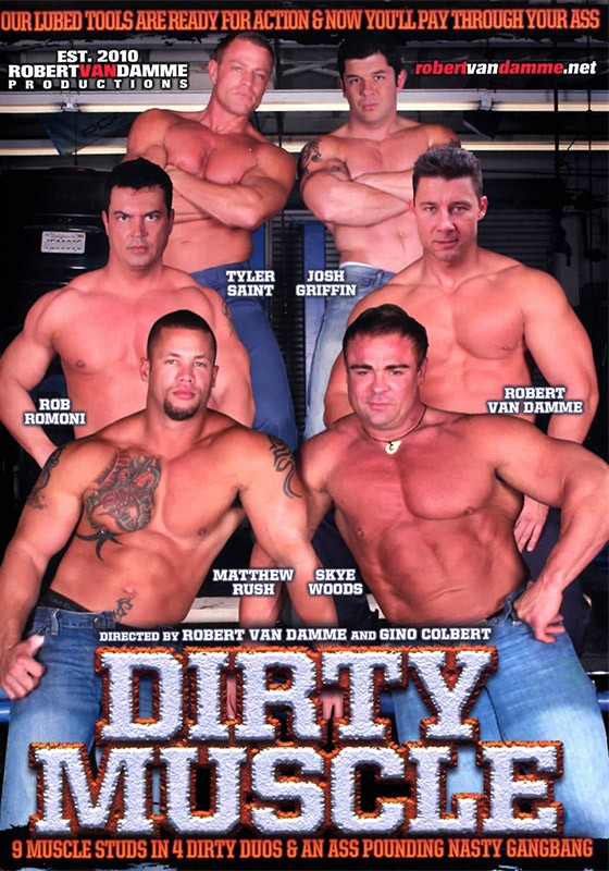 Dirty Muscle DVD - Front