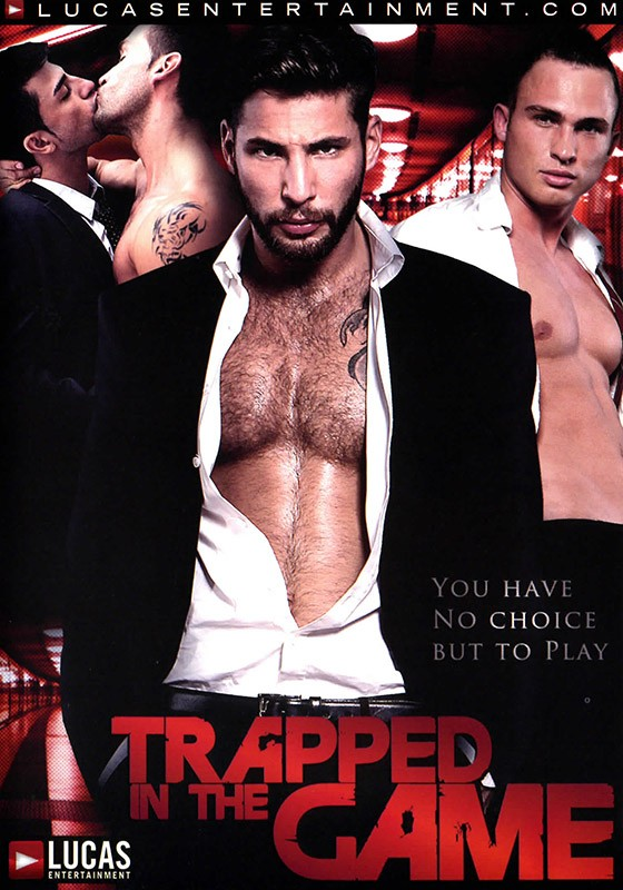 Trapped In The Game DVD - Front