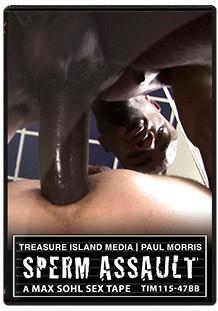 Sperm Assault DVD - Front