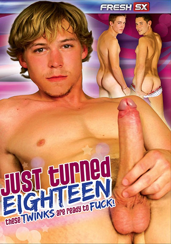 Just Turned Eighteen DVD - Front