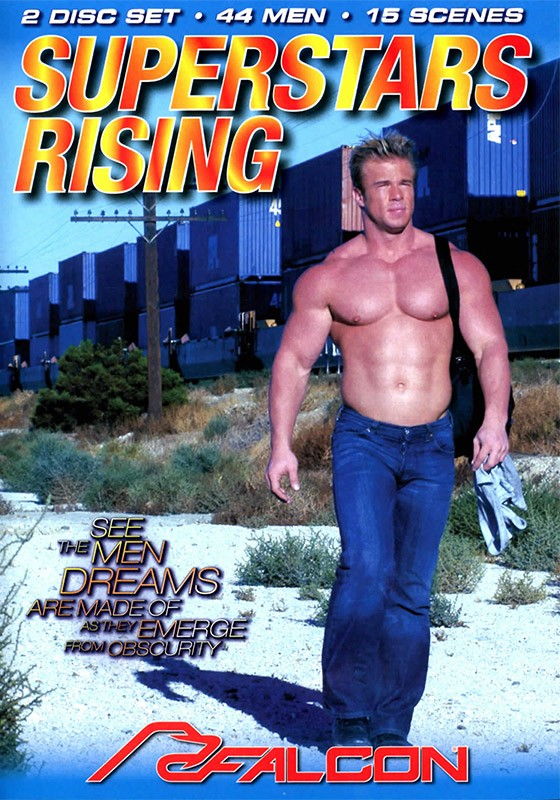 Superstars Rising DVD - Front