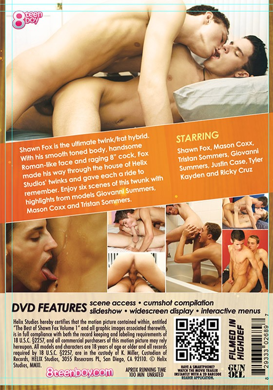 The Best of Shawn Fox Vol.1 DVD - Back