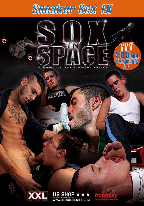 Sneaker Sex IX: Sox In Space DVD - Front