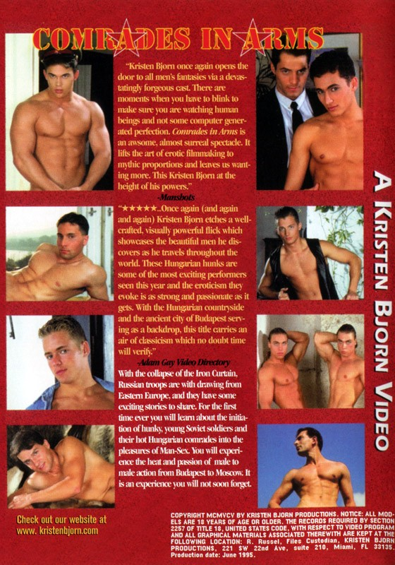 Comrades in Arms DVD - Back