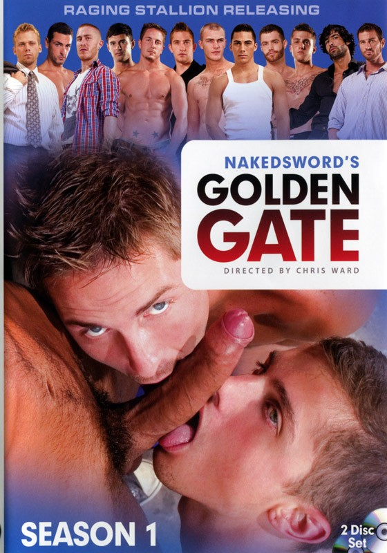 Golden Gate Season 1 DVD - Front