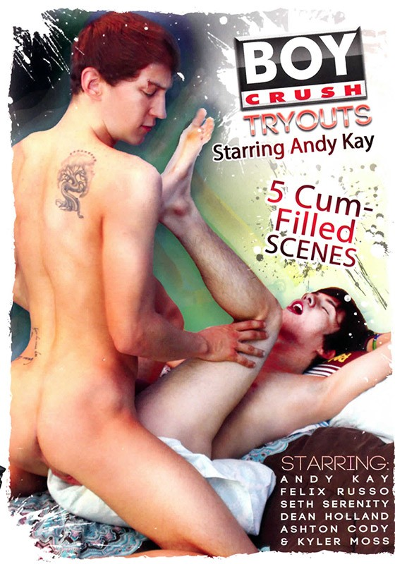 Boy Crush Tryouts DVD - Front