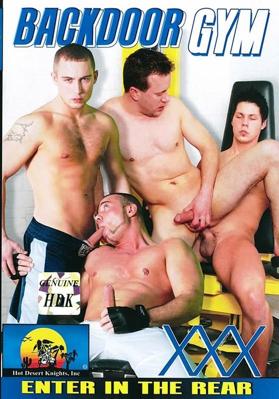 Backdoor Gym DVD - Front