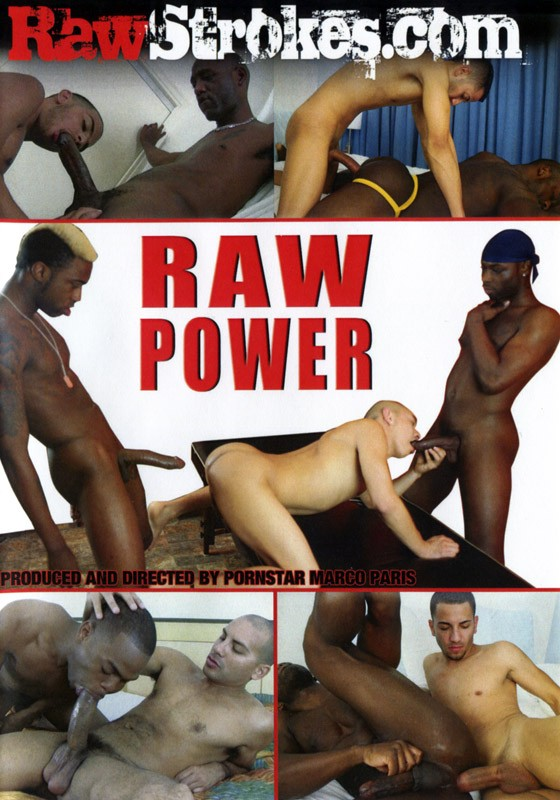 Raw Power DVD - Front