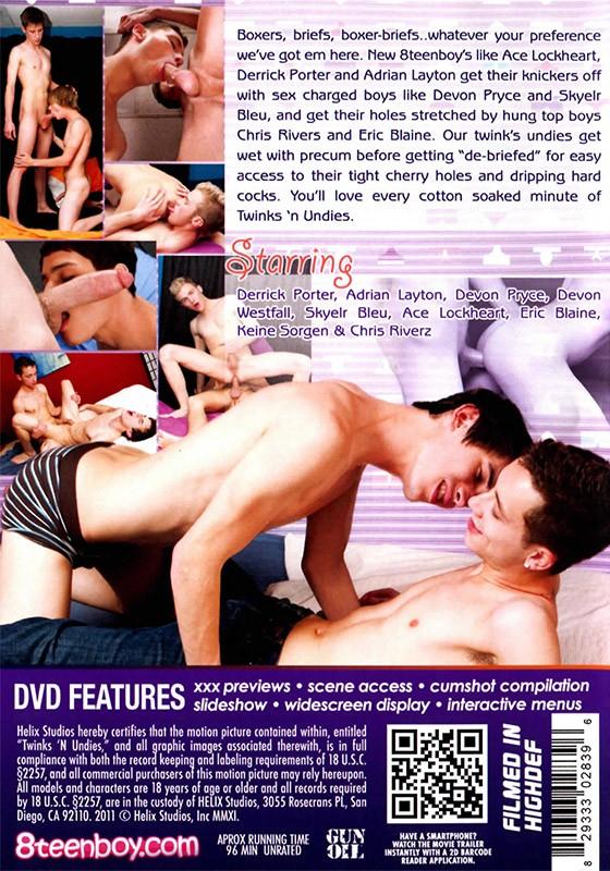Twinks 'n Undies DVD - Back