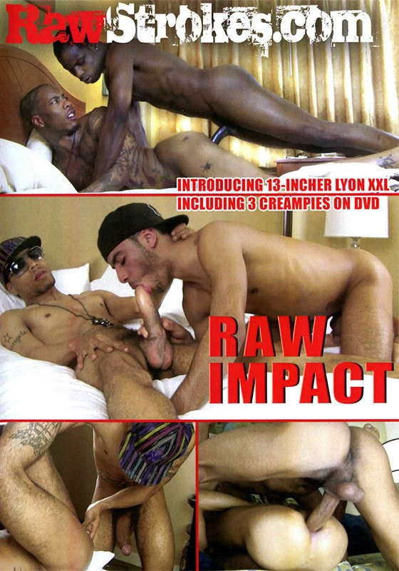 Raw Impact DVD - Front
