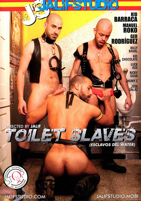 Toilet Slaves DVD - Front