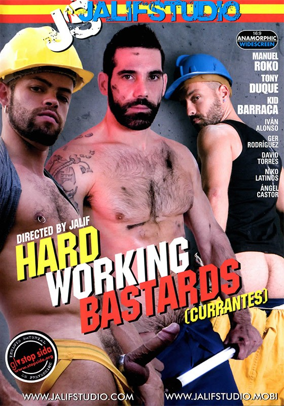 Hard Working Bastards DVD - Front