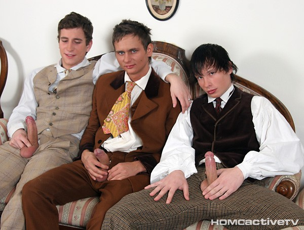 Bareback Schoolboys of 1910 DVD No Covers - Gallery - 017