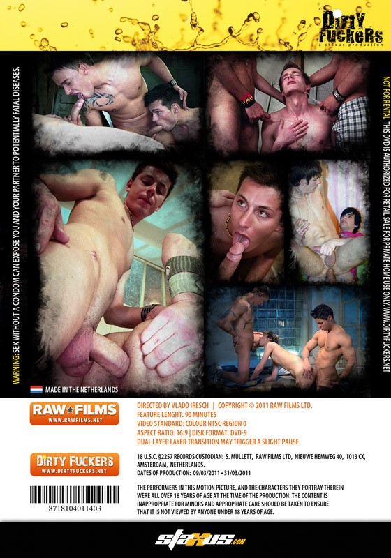 Extreme Pleasures DVD - Back