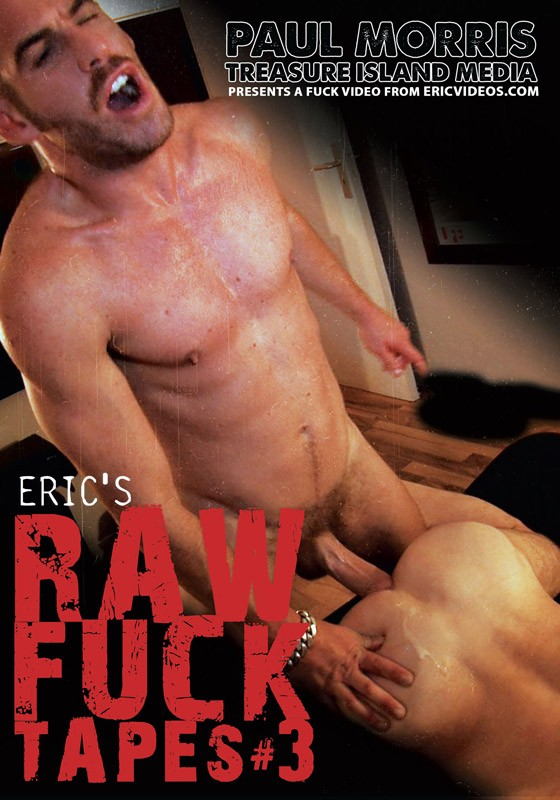 Eric's Raw Fuck Tapes 3 DVD - Front
