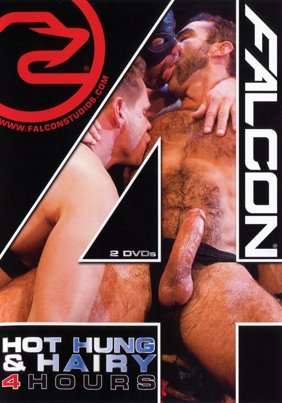 Falcon 4 Hours: Hot, Hung & Hairy DVD - Front