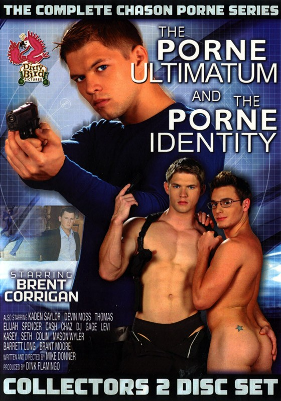 The Complete Chason Porne Series DVD - Front