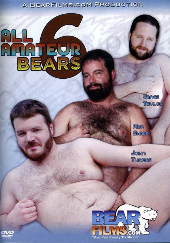 All Amateur Bears 6 DVD - Front
