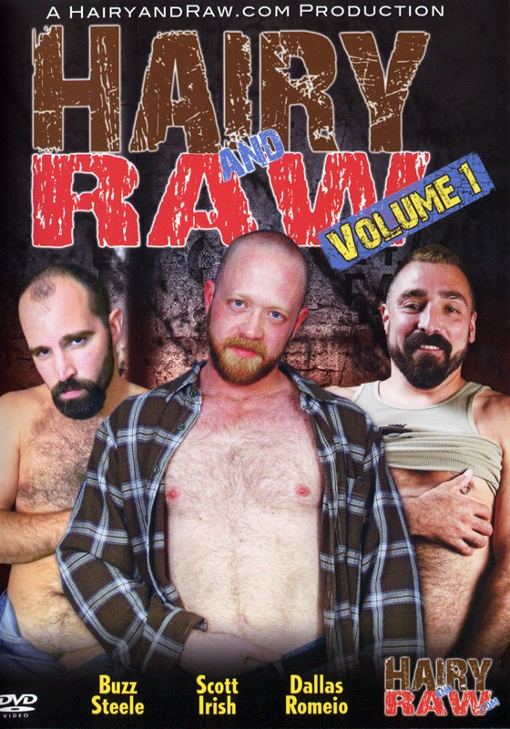 Hairy and Raw Volume 1 DVD - Front