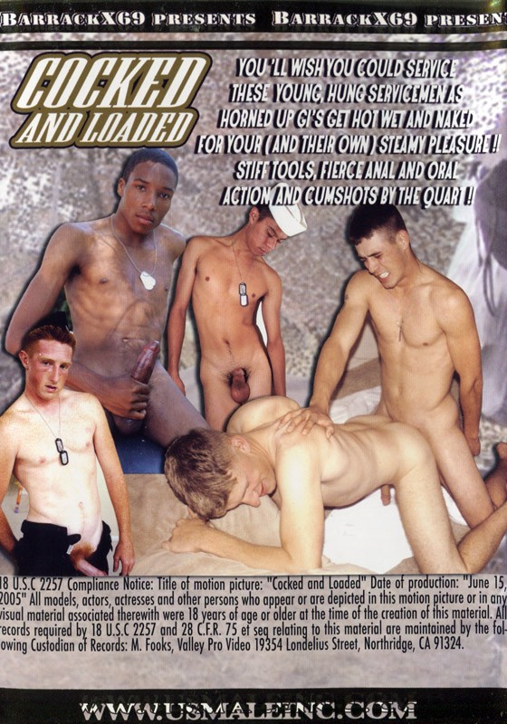 Cocked and Loaded DVD - Back