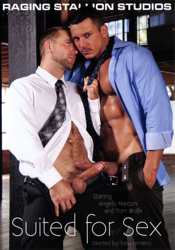 Suited For Sex DVD - Front