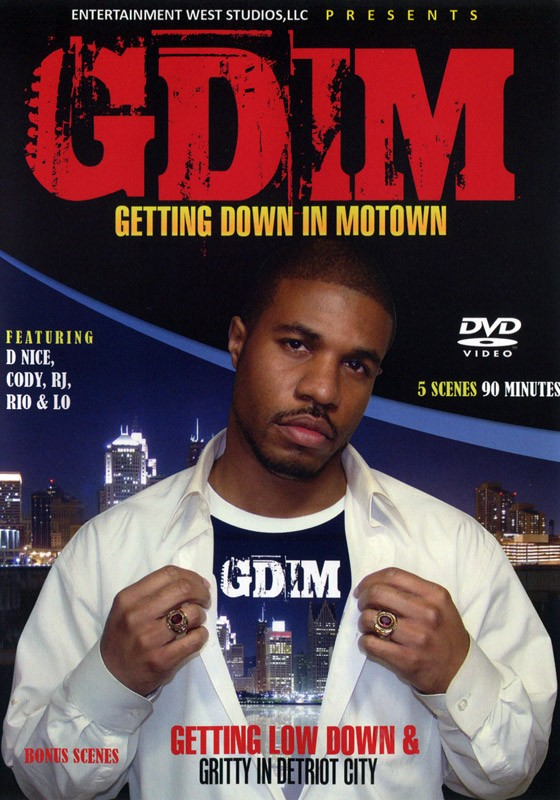 Get Down In Motown DVD - Front