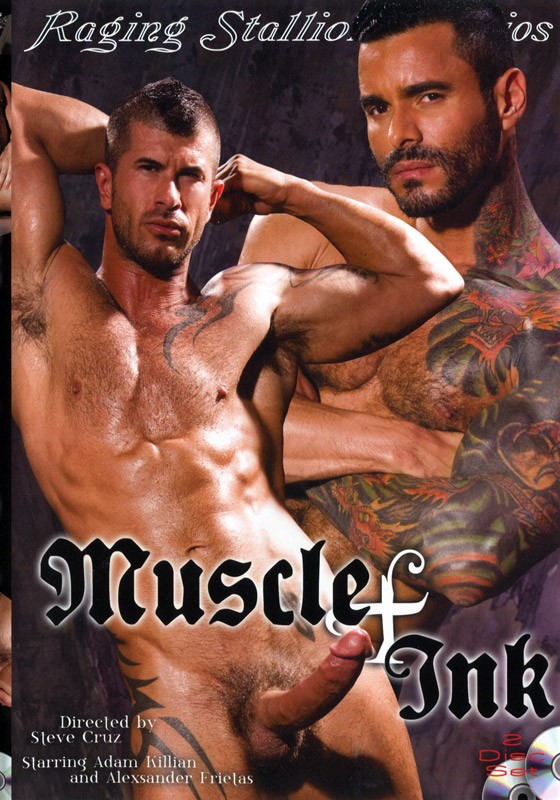 Muscle & Ink DVD - Front