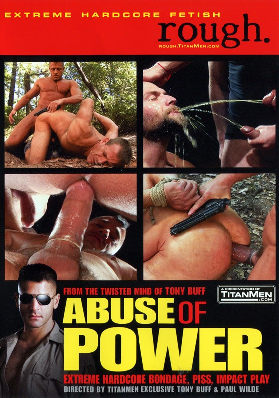 Abuse Of Power DVD - Front
