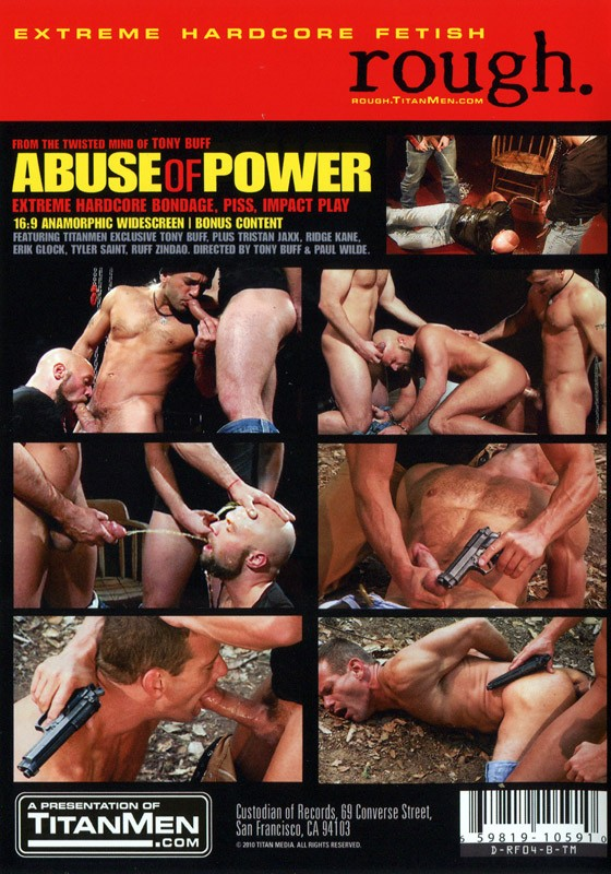 Abuse Of Power DVD - Back