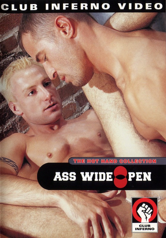 Ass Wide Open DVD - Front