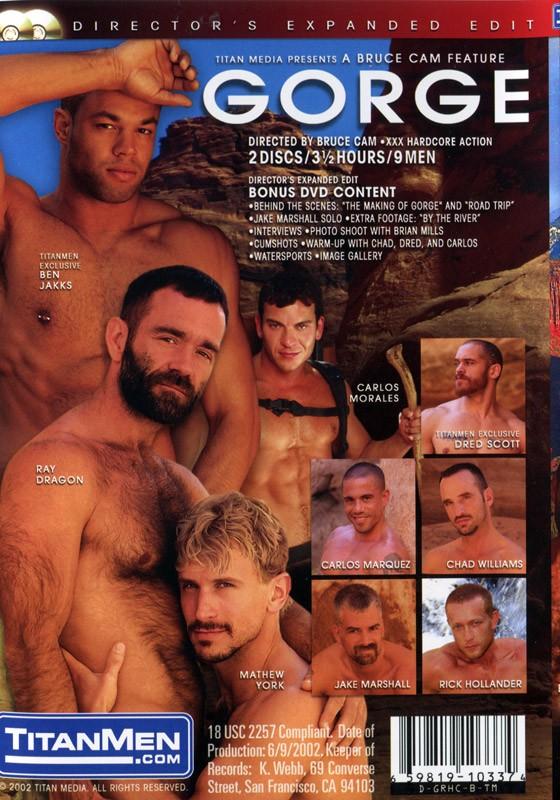 Gorge DVD - Back