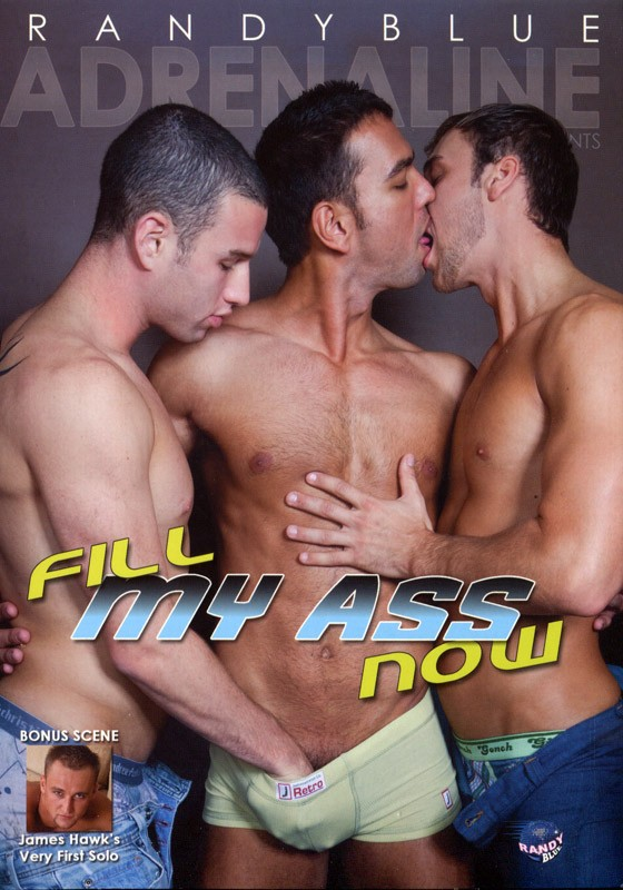 Fill My Ass Now DVD - Front