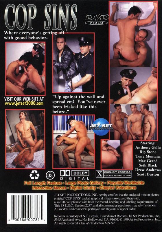 Cop Sins DVD - Back